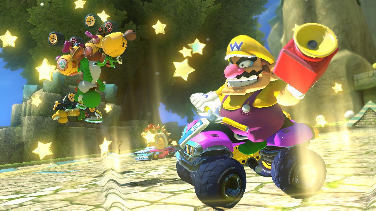 Mario Kart 8 Super Clacson