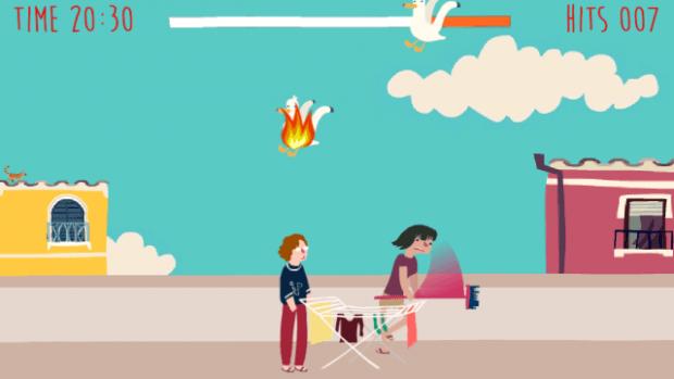I gabbiani se vengono colpiti prendono fuoco, è provato scientificamente.