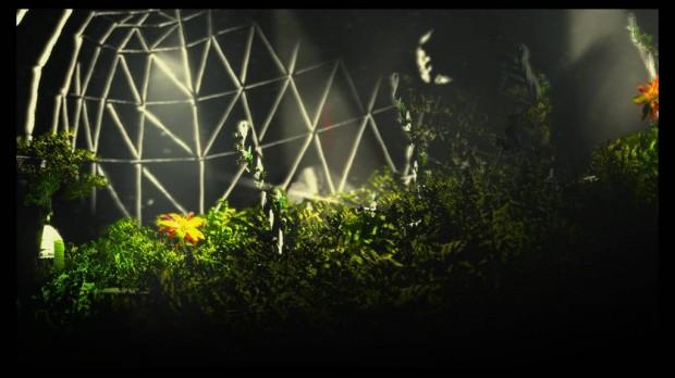La Theseus è una stazione enorme, tanto da ospitare giardini e serre al suo interno.