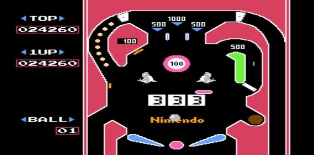 PixelFlood_Rubrica_Rubriche_IlCelacAntro_Ondama_Ondama02_Games_Pinball_Game_1983_NES_NintendoEntertainmentSystem_Nintendo_Games_Game_Flipper_Pinball1