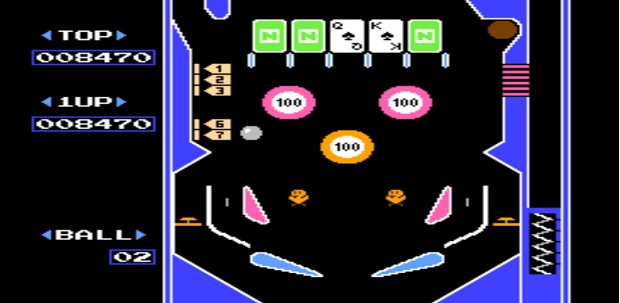 PixelFlood_Rubrica_Rubriche_IlCelacAntro_Ondama_Ondama02_Games_Pinball_Game_1983_NES_NintendoEntertainmentSystem_Nintendo_Games_Game_Flipper_Pinball3