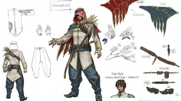 Concept art Tekken7 Katsuiro Harada Shaheen