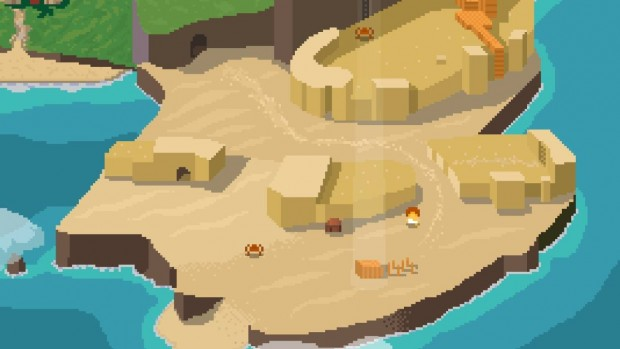 La World Map è navigabile nella sua interezza, a patto di possedere le giuste abilità.