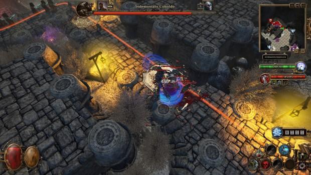 Decisamente più violento di Dungeon Defenders