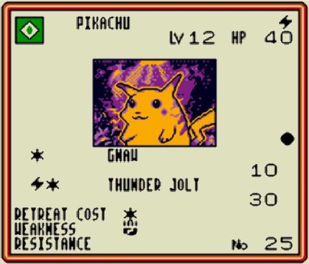 Pokémon Trading Card Game Game Boy Color