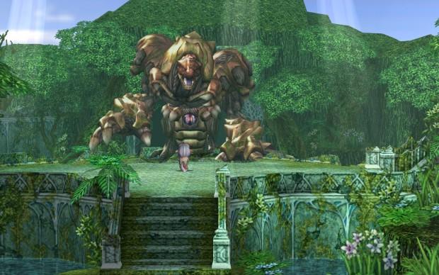 Screenshot di gioco di Ys VI.