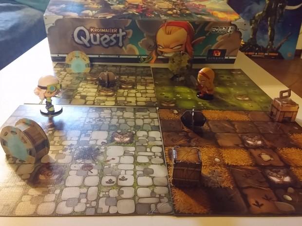 Krosmaster Quest: altra immagine del gioco montato.