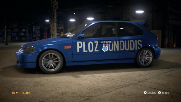 Need for Speed Honda Civic