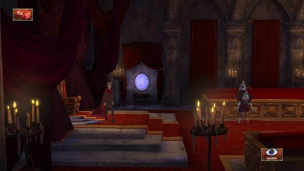 La sala del trono di Daventry. Ahh, proprio come la ricordavo...