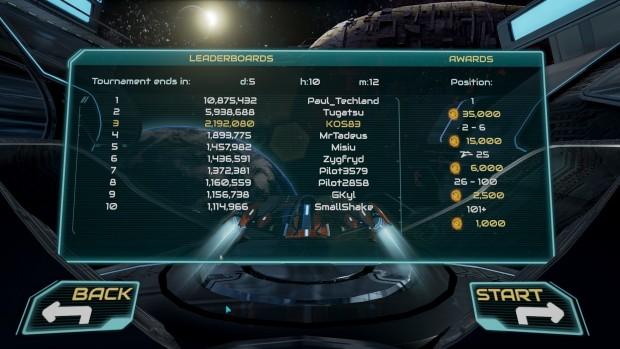 Lista High Score settimanale per il multiplayer mondiale
