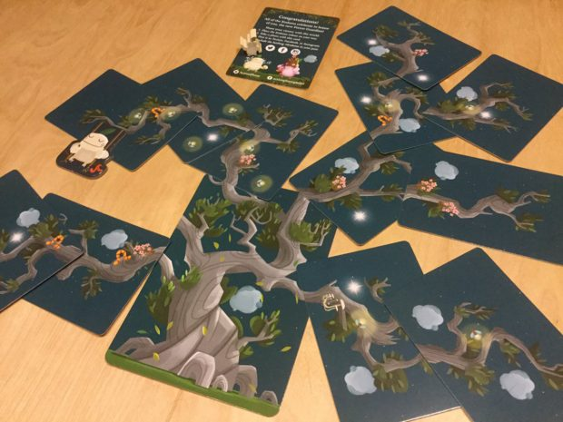 Kodama: The tree spirits - Un albero completato