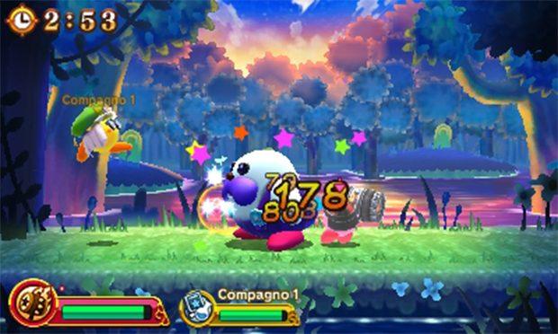 """In """"Squadra Kirby in azione"""" potremo fronteggiarci contro tostissimi nemici, con i nostri compagni."""