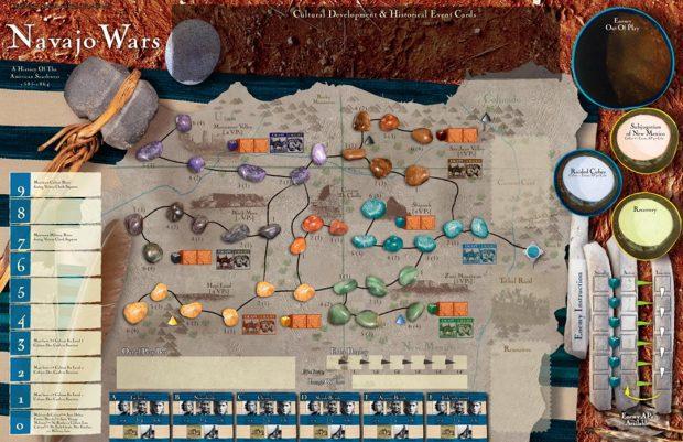 Navajo Wars: la mappa di gioco