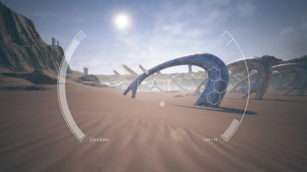 Un drift sulla sabbia a 230 km/h e passa la paura.