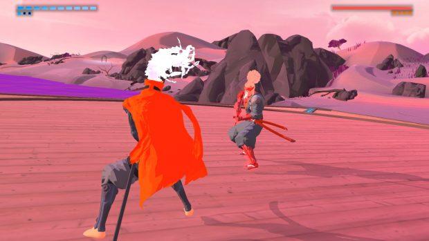 The Edge è il più peculiare tra i boss: niente pistole, ne proiettili, solo un duello di lame all'ultimo sangue.