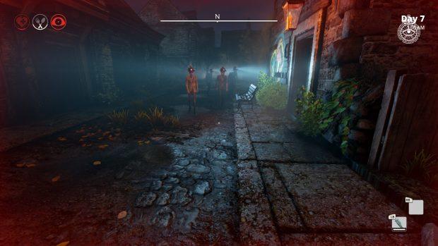 La vena horror del gioco è sottile, ma colpisce all'improvviso, come incontrare un corteo di appestati nel pieno della notte.