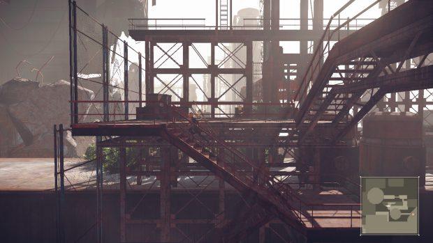 In certi casi la telecamera diventa fissa per sottolineare le fasi platform, disorientando il giocatore